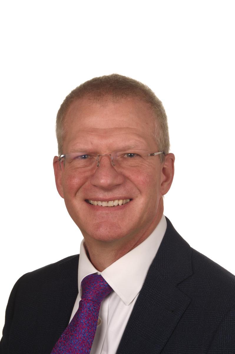 Prof David Blackbourn smiling
