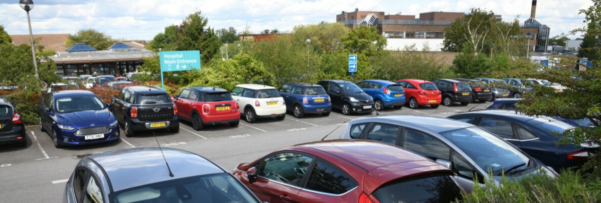 Picture of Royal Surrey car park
