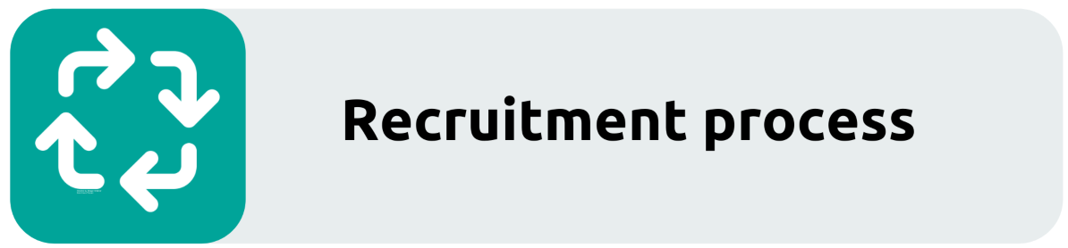 recruitment process button