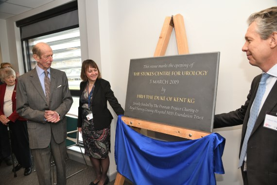 Opening of Stokes Centre for Urology