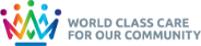 Trust crown logo - 'World class care for our community'
