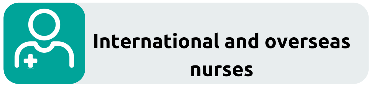 International nurses button